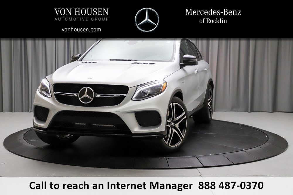 New 2019 Mercedes Benz Gle Amg Gle 43 Coupe Coupe In Rocklin