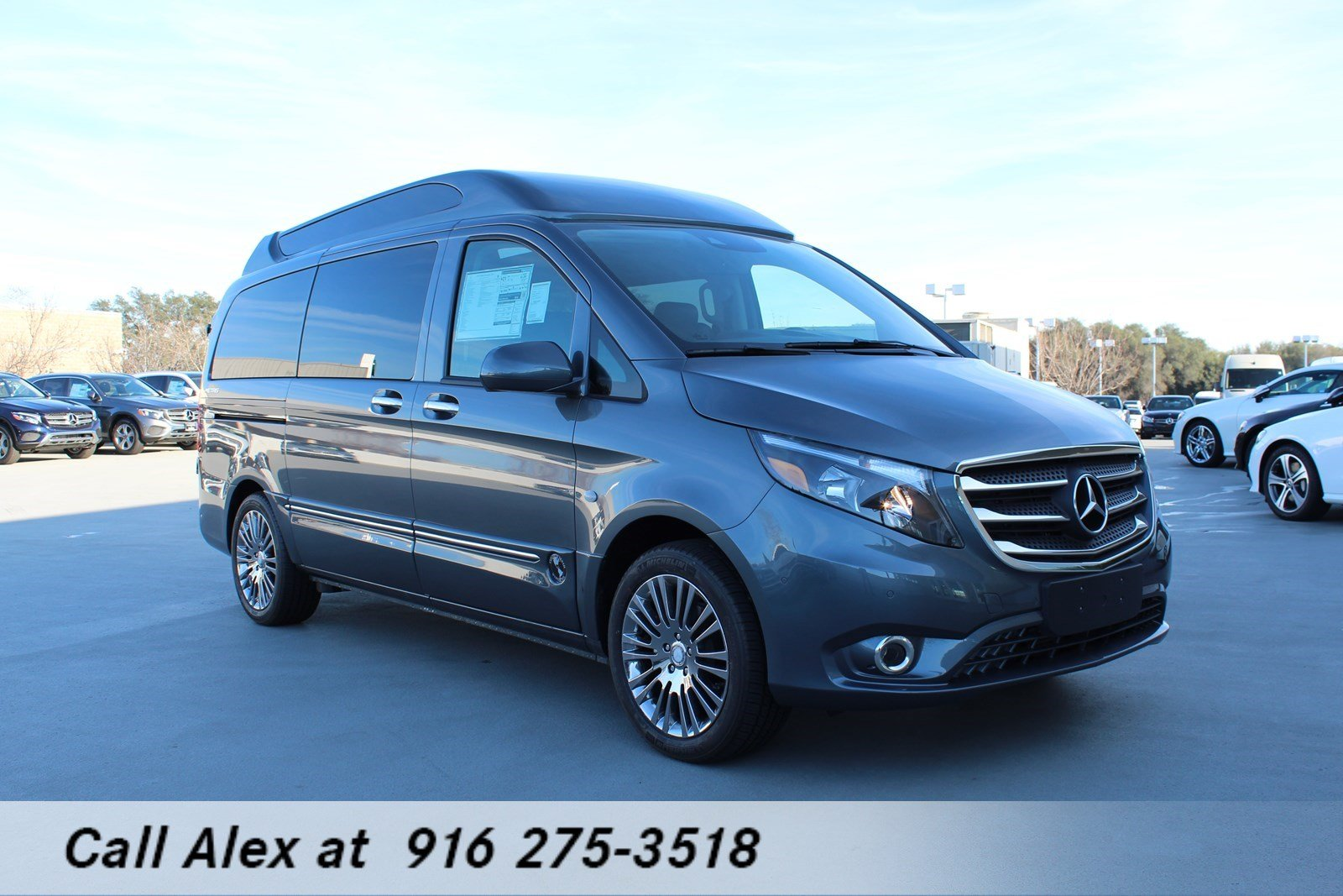 Great New 2018 Mercedes Benz Metris Passenger Van
