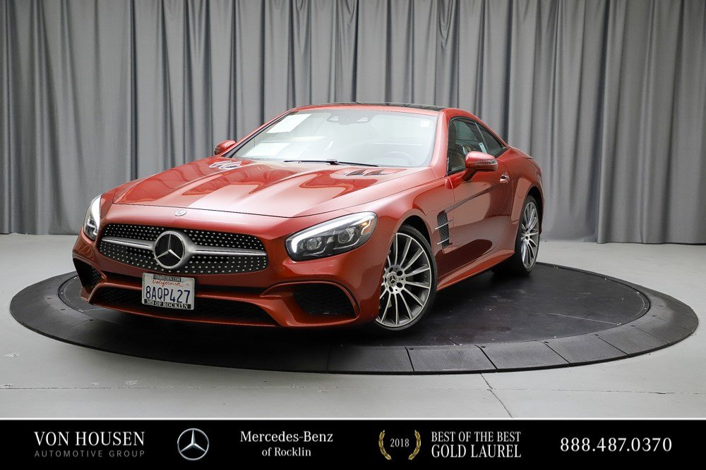 Certified Pre-Owned 2017 Mercedes-Benz SL SL 450