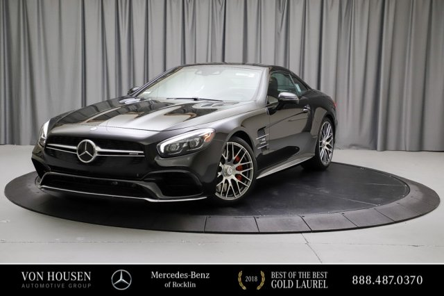 Certified Pre-Owned 2017 Mercedes-Benz SL AMG® SL 63 Roadster
