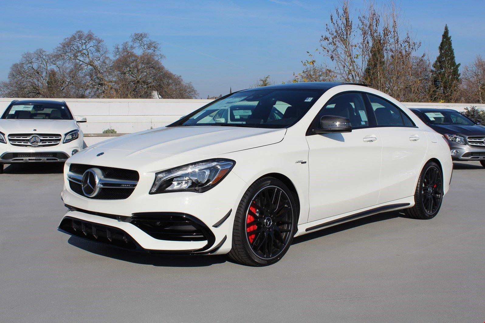 new 2018 mercedes benz cla amg cla 45 coupe in rocklin. Black Bedroom Furniture Sets. Home Design Ideas