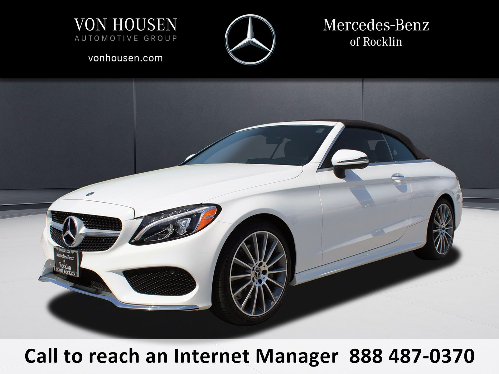 New 2018 Mercedes Benz C Class C 300 Sport CABRIOLET in Rocklin
