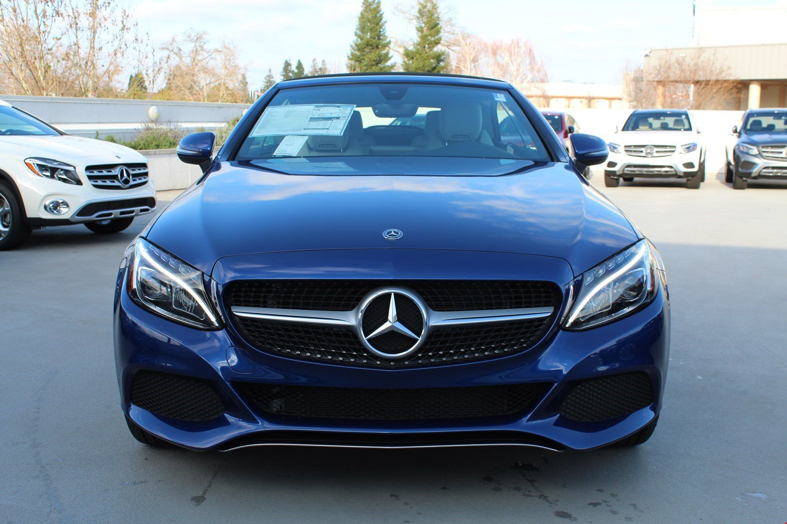 New 2018 Mercedes Benz C Class C 300 CABRIOLET in Rocklin N