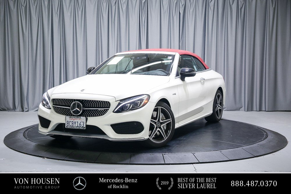Certified Pre-Owned 2018 Mercedes-Benz C-Class AMG® C 43 Cabriolet