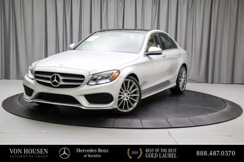 Certified Pre-Owned 2016 Mercedes-Benz C-Class C 300W