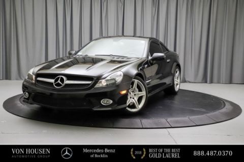 Pre-Owned 2009 Mercedes-Benz SL-Class SL 550