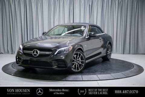 Certified Pre-Owned 2019 Mercedes-Benz C-Class AMG® C 43 Cabriolet