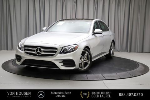 Certified Pre-Owned 2017 Mercedes-Benz E-Class E 300W